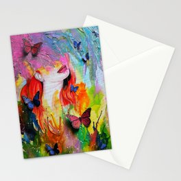 Dripping With Finesse Stationery Cards