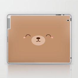 Kawaii Cute Brown Bear Laptop & iPad Skin