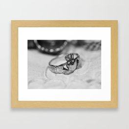 Knuckle Sandwich II Framed Art Print