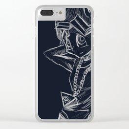 Yugi Mutou Sketch Clear iPhone Case