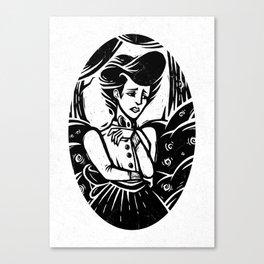 Langtree's Lament Canvas Print