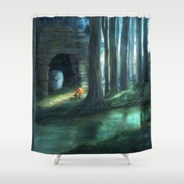 The Toadstools Shower Curtain