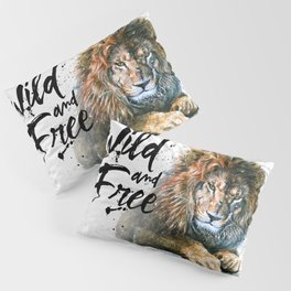 Lion Wild and Free Pillow Sham