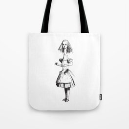 Alice in Wonderland - Long Neck Tote Bag