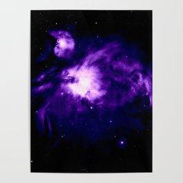 Hauntingly Beautiful Orion Nebula Poster