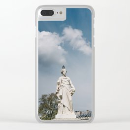Tuileries Garden V Clear iPhone Case