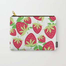 Sweet strawberries pattern Carry-All Pouch