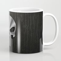 punisher Mugs featuring The Punisher by Andrian Kembara