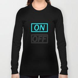 Light On Off Long Sleeve T-shirt
