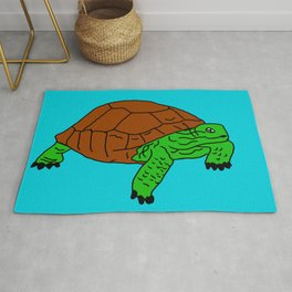 The Friendly Turtle Rug