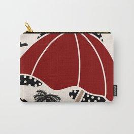 Polka Dot Beach Carry-All Pouch