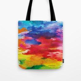 Watercolor Summer Tote Bag