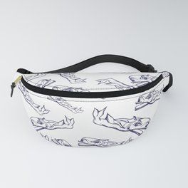 Pattern-whale Fanny Pack