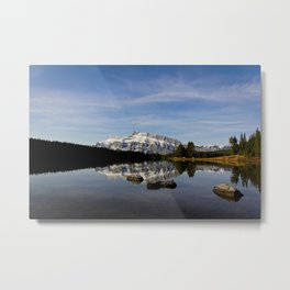 Two Jacks Lake  Metal Print