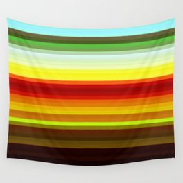 Re-Created Spectrum XXXIV by Robert S. Lee Wall Tapestry