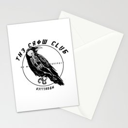 the crow club Stationery Cards