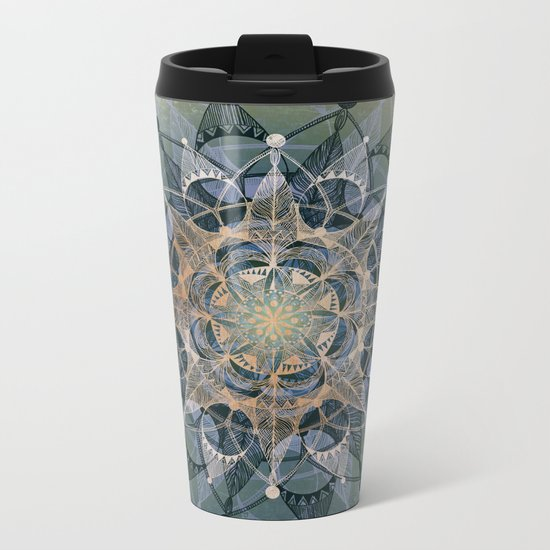 Heart Chakra Metal Travel Mug