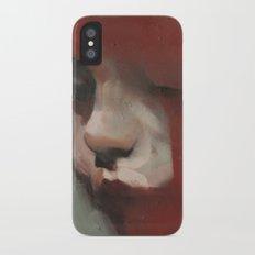title pending iPhone X Slim Case