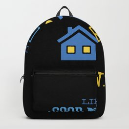 Like a good neighbor quote Backpack