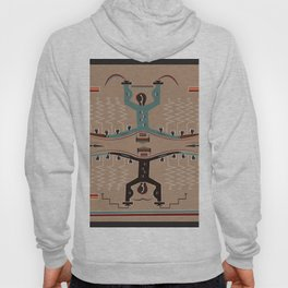 American Native Pattern No. 112 Hoody