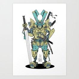 Culprit Tech Robot #6 Art Print