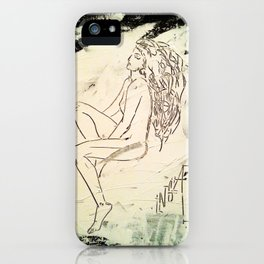 Black & White Dreams iPhone Case