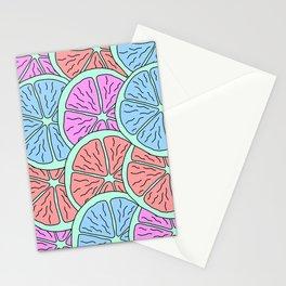Spinning Citrus Stationery Cards