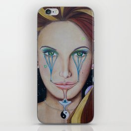Eye Balance - Libra iPhone Skin