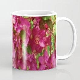 PINK CRABAPPLE SPRING MODERN ART Coffee Mug