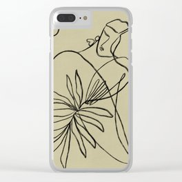 Summer lines V   Clear iPhone Case