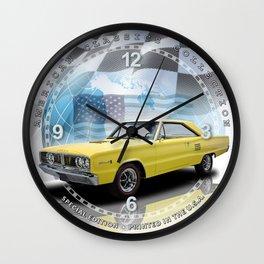 "1966 Dodge Coronet 500 Decorative 10"" Wall Clock (018ac) Wall Clock"