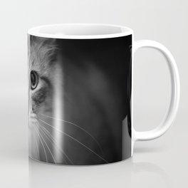 Black & White Cat Coffee Mug