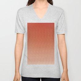 Orange Sunset Breeze Unisex V-Neck