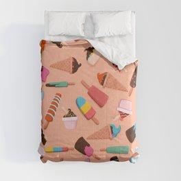 Ice Cream Doodle Comforters