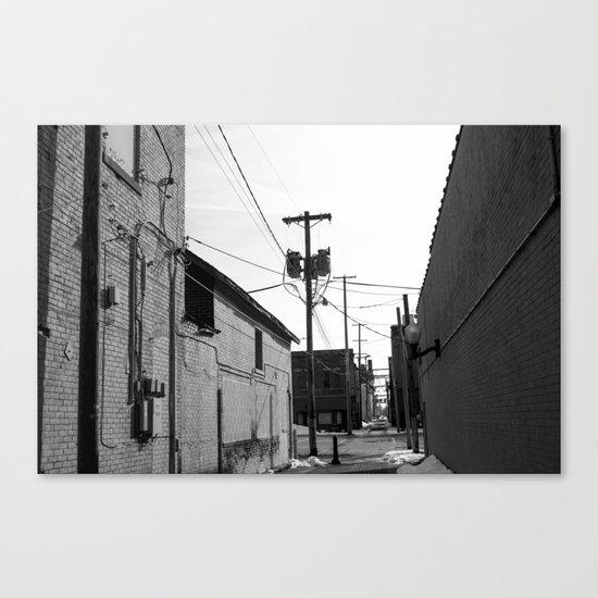Urban Life 1 Canvas Print