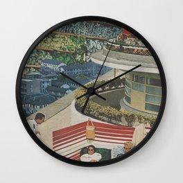 An Exotic Holiday Wall Clock