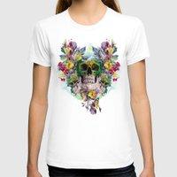 skulls T-shirts featuring SKULLS by RIZA PEKER
