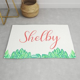 Shelby - Tropical Green Rug