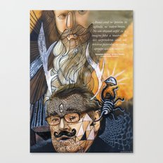 Psychoactive Bear 1 Canvas Print