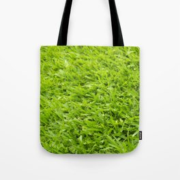 A million leaves of grass. Green is Everything Tote Bag