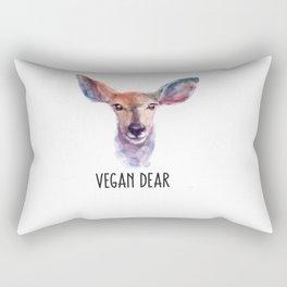 Vegan Dear Rectangular Pillow
