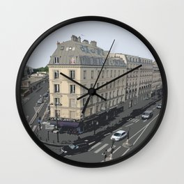 Paris I Wall Clock
