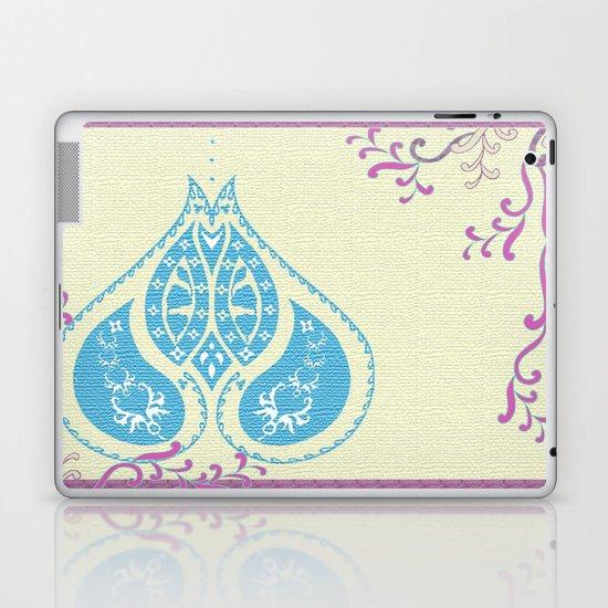 Indian Paisley Laptop & iPad Skin