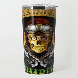 Badass Zombies Travel Mug