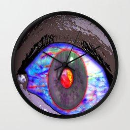 Inter Dimensional Sight  Wall Clock