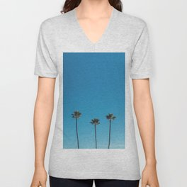 Summer Palms Unisex V-Neck