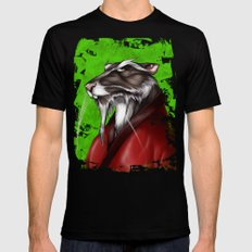 Turtle Power - The Master Black Mens Fitted Tee MEDIUM