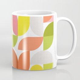 Mid Modern Geometric Bloom Pattern Coffee Mug