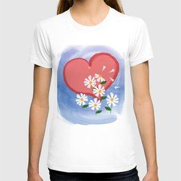Loves me, loves me not T-shirt