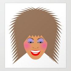 Greatest Tina Art Print